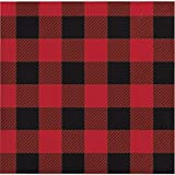 Buffalo Plaid Beverage Napkins, 48 Count