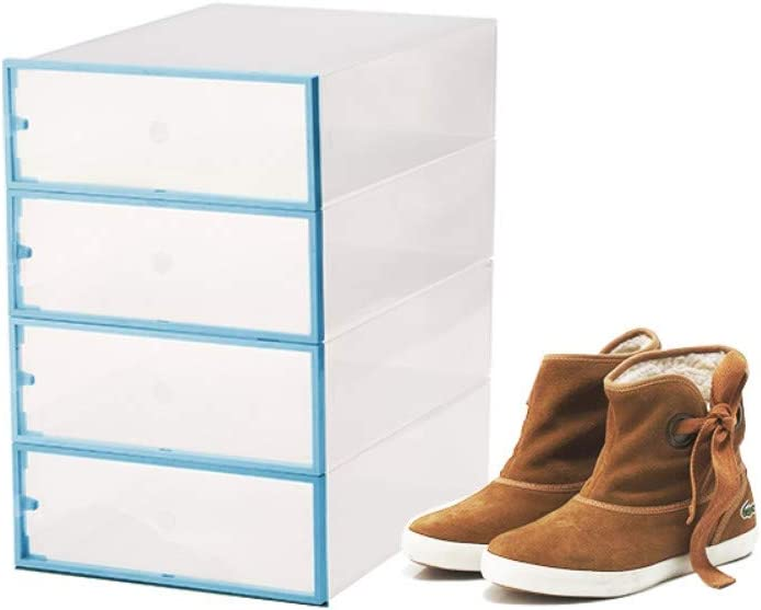 XZDXR Caja De Almacenamiento De Zapatos, 6 Botas, Gabinete De ...