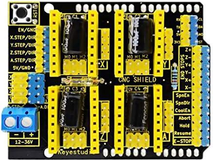 Gazechimp Impresora 3D Controlador De Motor Paso A Paso CNC Shield ...