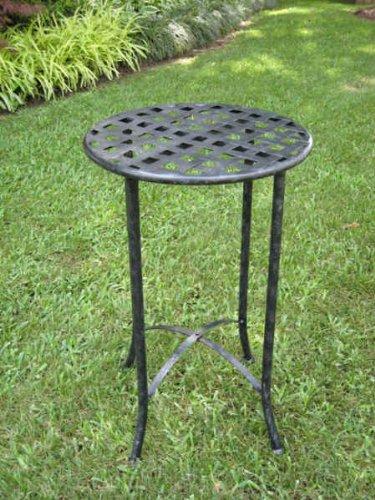 MANDALAY IRON TABLE BLACK