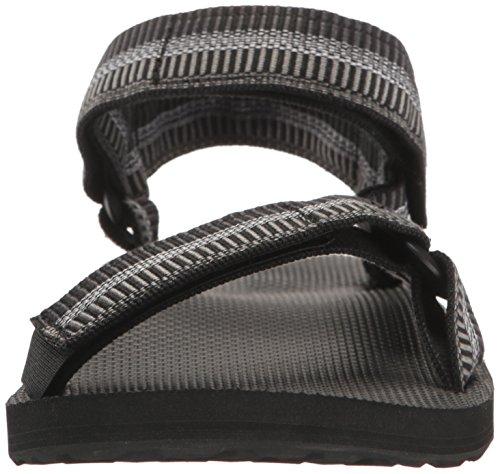 Teva Mens M Original Sport Universel Sandal Armida Noir / Blanc