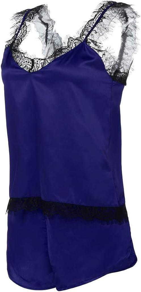 Lace Babydoll Nightdress Nightgown Sleepwear Underwear Set 2PC Plus Size Lingerie for Women