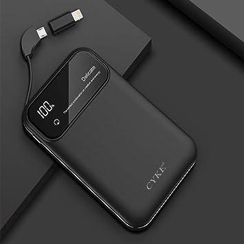 QWDF Mini Power Bank Cargador Portátil Batería Externa Power ...