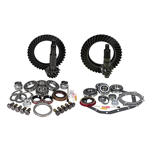 Yukon Gear YGK024 Gear and Install Kit Package (for Standard Rotation Dana 60, GM 14T, 5.38 Ratio)