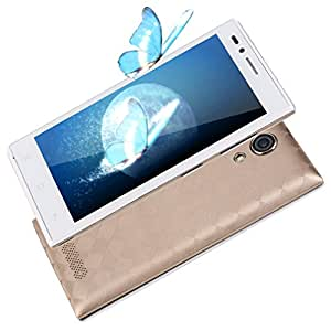 """G10 4.5"""" Touch Screen Mobile Smartphone Dual Core Call Video for Android (White & gold)"""