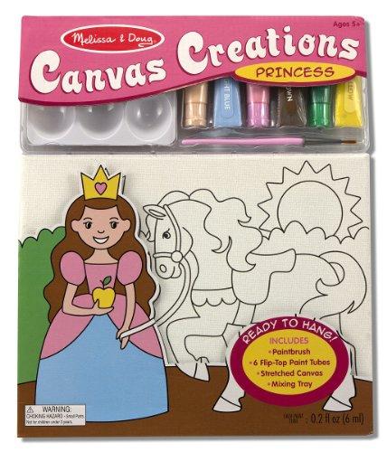 Melissa Doug Canvas Creations Princess