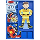 Melissa & Doug Joey Magnetic Wooden Dress-Up Pretend Play Set (25+ pcs)