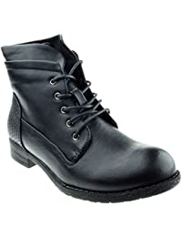 Elena 59 Womens Combat Ankle Boots