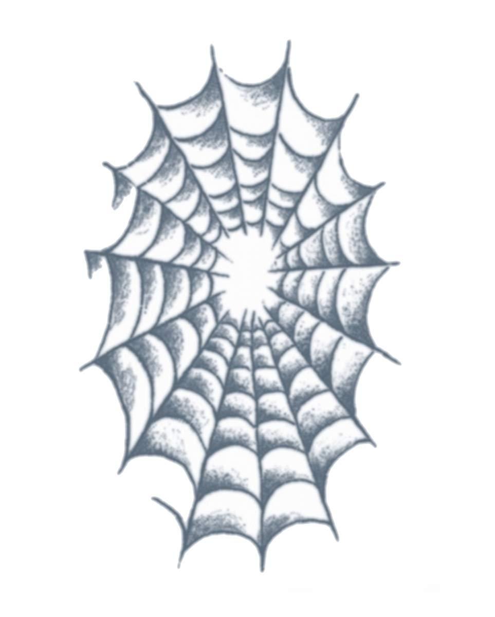 Horror-Shop Cárcel Adhesivo Tatuaje Arañas Web: Amazon.es ...