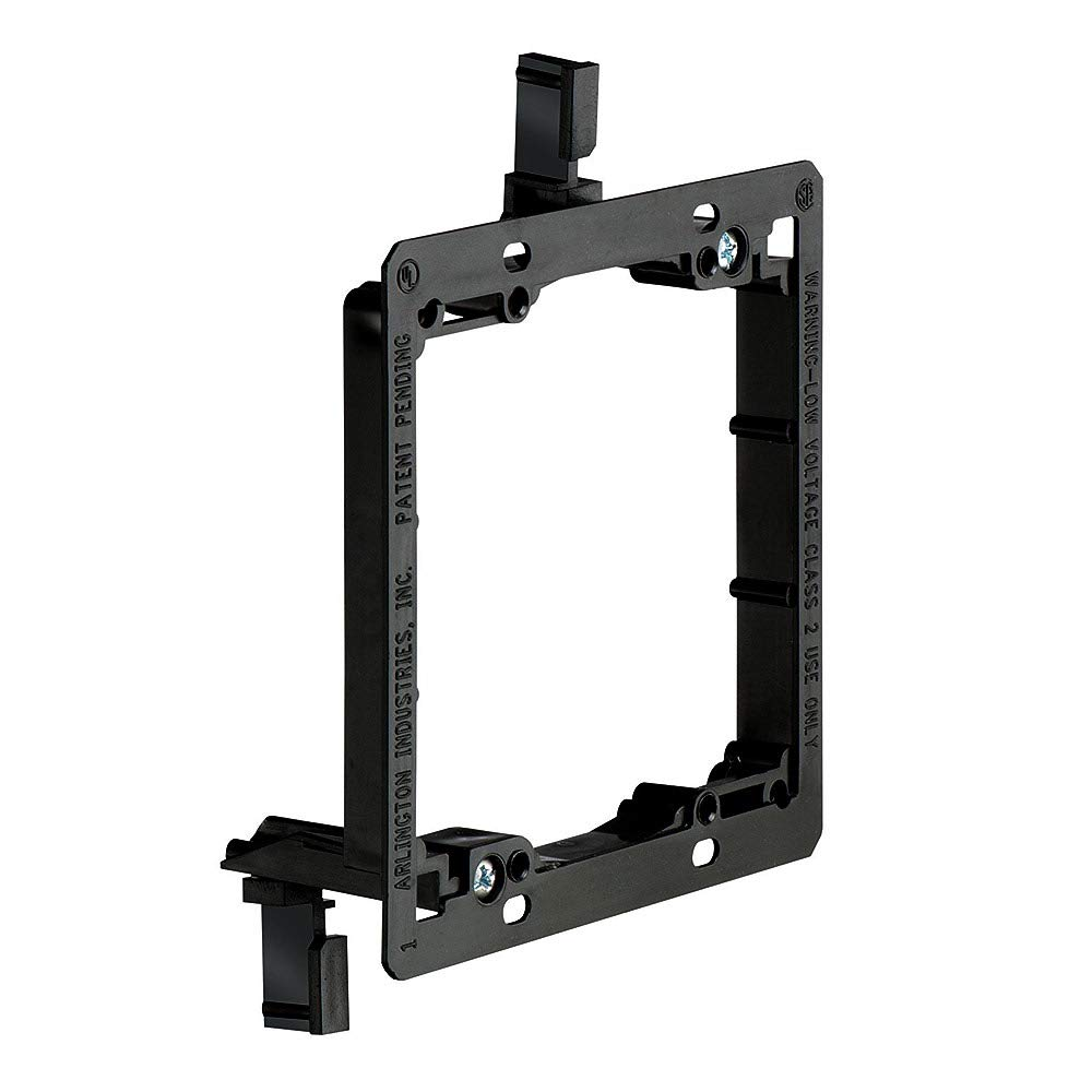 Double Gang Low Voltage Mounting Bracket, Old Work, 10 Pack