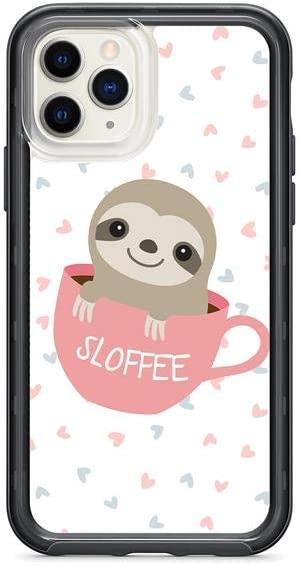 Kaidan Coffee Cup iPhone 6 6s 5 5s SE Apple 11 Pro Max Sloffee Case 8 7 Plus XS X XR Cute Baby Sloth Samsung Galaxy S10 + Lite Note 9 8 S9 S8 Plus Animal Lovely Hearts s10e Google Pixel 3 XL 2 am159