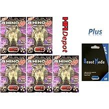 Beast Mode Rhino 69 69K Best Male Enhancing Pills All Natural Performance (5 PIlls)