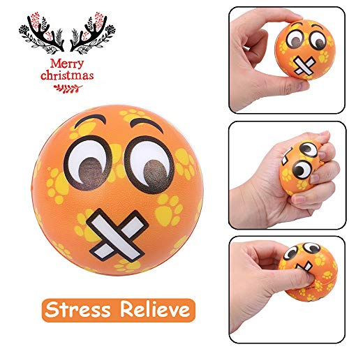 Sagton Stress Relief Anxiety Relief Toys, Mouth Emotion Ball Slow Rising Scented Cream Squeeze Toy for Adult Kids