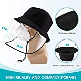Safety Face Shields,Protective Cap with Men Women