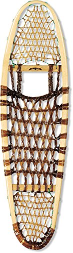 GV Snowshoes Modified Bear Paw Rawhide Snowshoes, 10x36