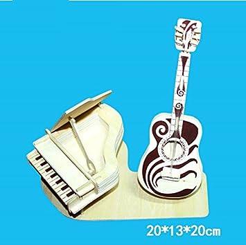 Whyyudan Regalos Musicales de Instrumentos Piano Guitarra 3D ...