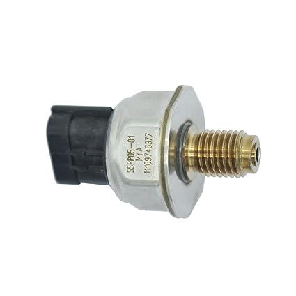 55PP0501 Fuel Rail High Pressure Sensor 55PP05-01 For Nissan Navara D40 2.5
