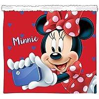 Minnie Mouse Braga Cuello Pelo Sherpa Niña Bufanda, Unisex niños, Multicolor, Talla Única