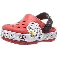 Crocs FL Snoopy Woodstock CG K, Chanclas Tiempo Libre y Sportwear Infantil Unisex niños