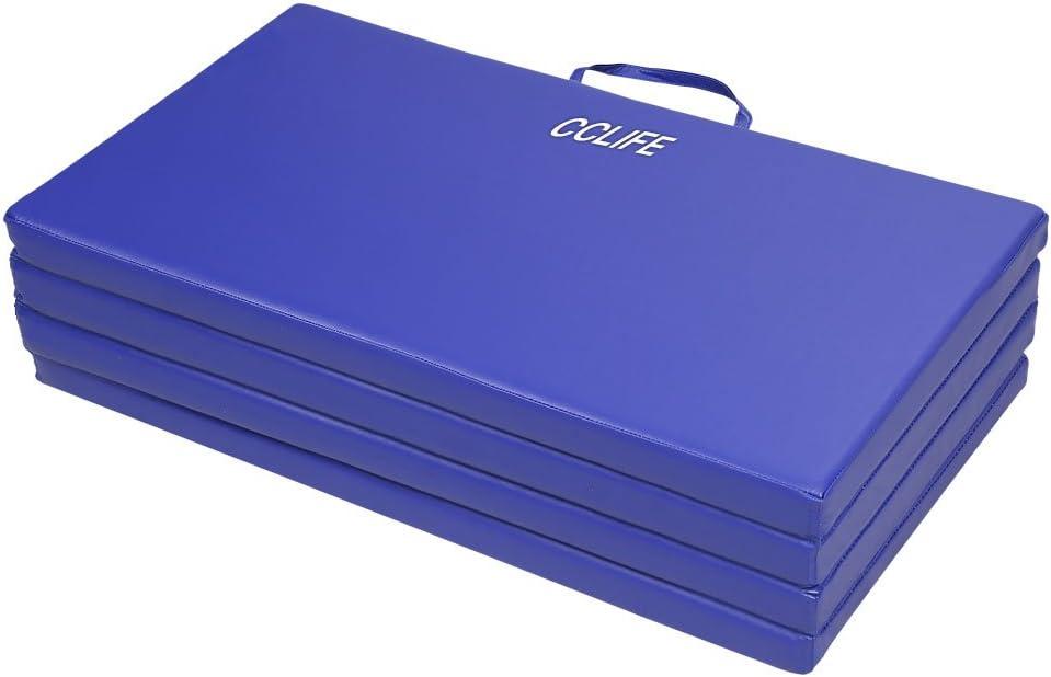 CCLIFE 180x80x5//200x100x5 Farbenauswahl Klappbare Weichbodenmatte Turnmatte Fitnessmatte Gymnastikmatte rutschfeste Sportmatte Spielmatte