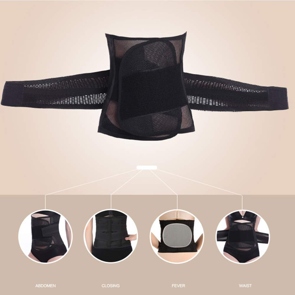 Body Shaper Corset Belt with High Elastic for Women Waist Trainer Belts C Section Post Belly Belt LONMEI Postpartum Belly Wrap