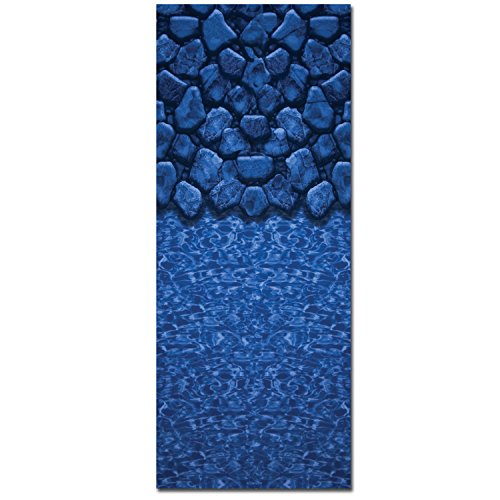 In The Swim Unibead Above Ground Pool Liner for 48-in. Beaded or J-Hook Sidewalls - 24 ft. - Round - 20-Gauge
