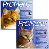 3 Pack ProMeris for Cats 9 lbs and over, My Pet Supplies