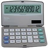 ROYAL 29305Y Folding Solar 12-Digit Calculator by Royal