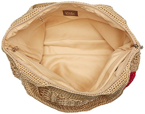 Tote The Large Sak With Gold Classics Bamboo Casual nHHIwxTqF