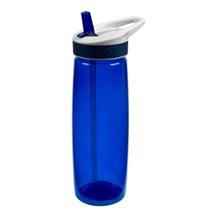 25oz Single Wall Tritan Leak and Spill Proof Bottle with Matching Co-Molded Band with aWave Design Wave