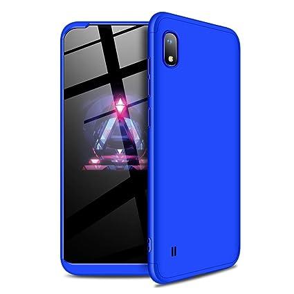 Amazon.com: LEECOCO Samsung Galaxy A10 Ultra Thin 3 en 1 360 ...