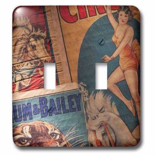 3dRose lsp_89299_2 Florida Sarasota Ringling Museum Circus Museum Us10 Wbi0587 Walter Bibikow Double Toggle Switch