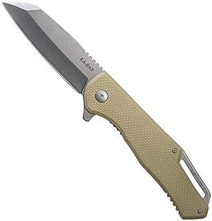 "product image for KA-BAR 7508 Jarosz Flipper, Wharncliffe, 3.375"" Blade, Hollow Grind, G10 Handle"