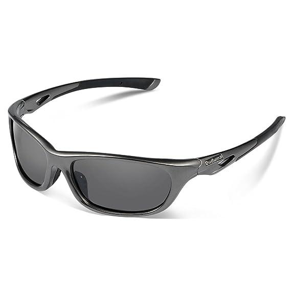 Duduma Lunettes de Soleil Polarisées Sport pour Baseball Courir Cyclisme  Pêche Equitation Conduite Golf avec Cadre 4664005081d5