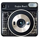Fujifilm Instant Film Camera, Black (instax Square SQ6 Taylor Swift Edition)