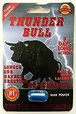 Thunder Bull Triple Maximum Male Enhancement Sexual Pill! Long Lasting!-6 Pills!