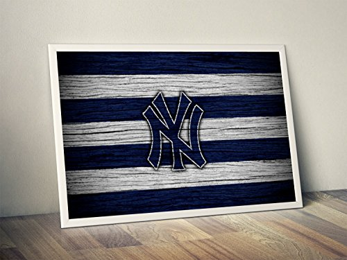 New York Yankees Limited Poster Artwork - Professional Wall