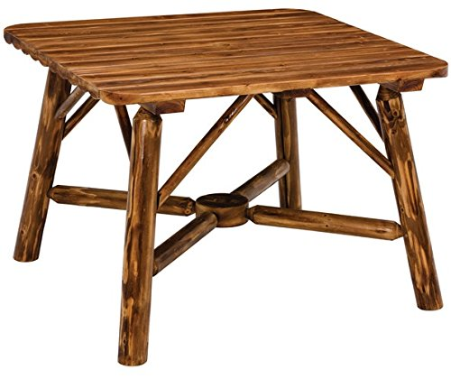 Jack Post NW-73Q-JE Log Dining Table ()
