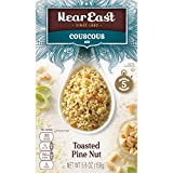 Near East Couscous Mix, Toasted Pine Nut (Pack of 12 Boxes)
