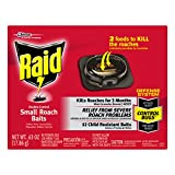 Raid Double Control Small Roach Baits, 12 ct