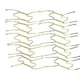 Maggift plate hangers for the wall Golden Platter Holder Wall 10 pack (8 inches)