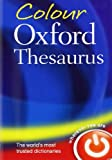 Colour Oxford Thesaurus, Oxford Dictionaries, 0199607923