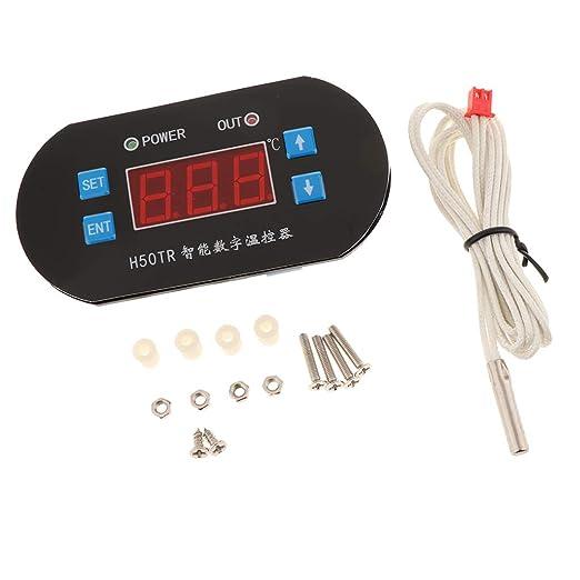 kesoto Termostato Digital LCD Display Controlador de Temperatura ...