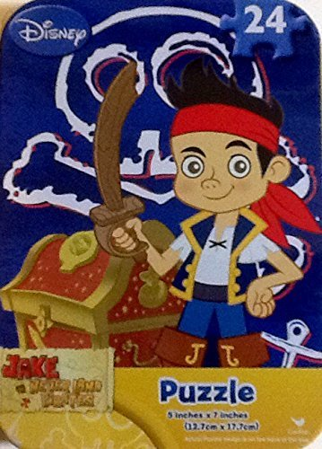 Collectable Miniature Puzzle in a Tin ~ Jake & The Neverland Pirates~ 24 Piece from Disney Junior