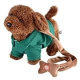 Electronic Pet Dog Cute Plush Toys Singing Walking - Best Reviews Guide