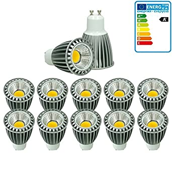 4 x LED COB GU10 Spot Lampe Birne Leuchte Glühbirne Licht Dimmbar 9W Neutralweiß