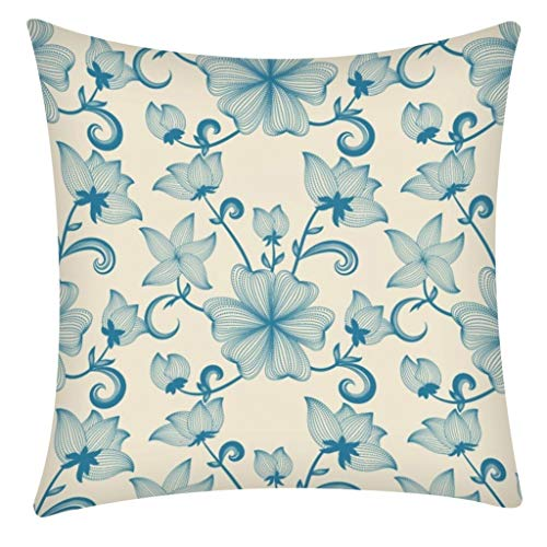 Nihewoo Throw Pillow Insert Cushion Cover Square Throw Pillow Decorative Couch Pillows Used for Sofa and Bed (Buy Cushion Online)