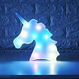 WHATOOK Colorful Unicorn Light,Changeable Night Lights...