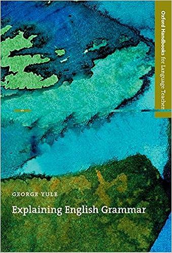 Amazon.com: Explaining English Grammar (Oxford Handbooks for ...