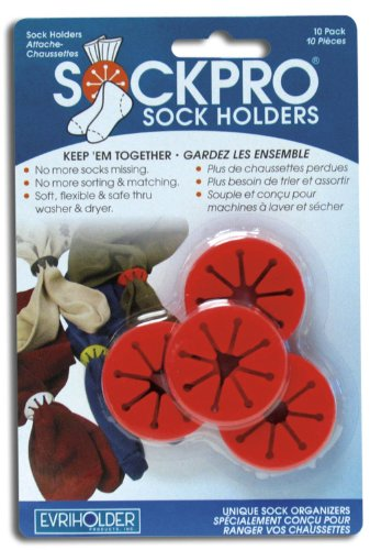 Price comparison product image Sock Pro Sock Holders by Evriholder (Color May Vary)